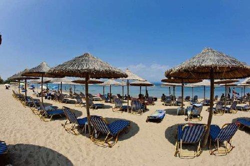 Across Potidea Golden Beach (potidea Kassandra)