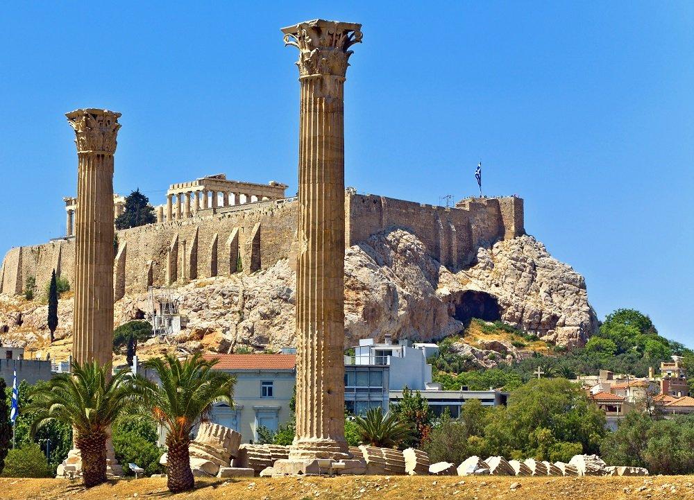 ATENA 2018 (avion) - Craciun in leaganul civilizatiei antice