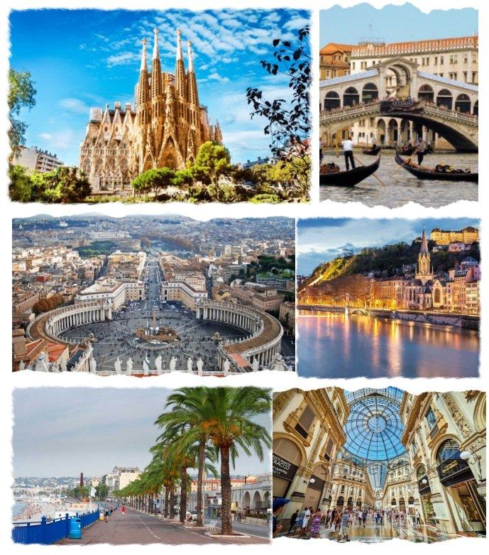 Italia - Franta - Spania 2019 (autocar)